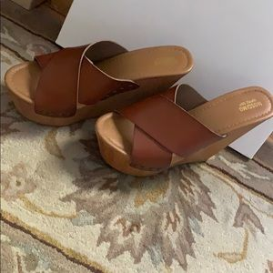 Mossimo supply co. Brown shoes